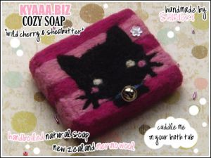 kyaaa.biz Soap - Cat Pink by shiricki