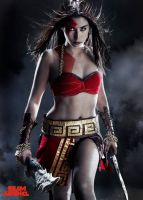 Katrina (gender bend God of War Kratos) by DiamondBlackCosplay