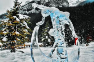 Second Place Ice Sculpture by skip2000