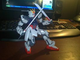 1:100 MG strike gundam 2 by jiyuujin55