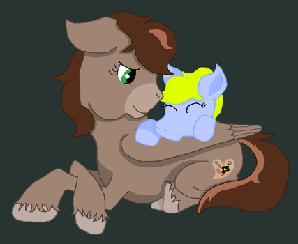 Summy and her Mommy Fallen by Crazy-Summer-Magic