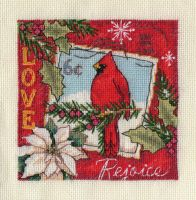 Love Ornament cross stitch by lovebiser
