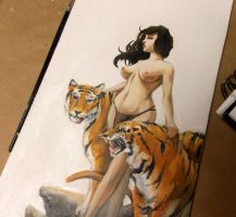 Tiger Girl by Harpokrates