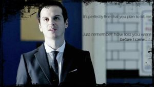 Moriarty Wallpaper by HarrySaxon