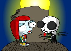 Nightmare Before Christmas Gir by MastaAzumarek