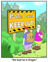 Public Land? by Conservatoons