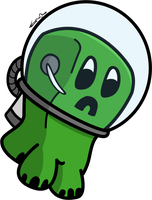 Astro Creeper PNG by SpinaOscura
