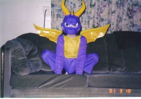 Spyro the dragon....oh gawd DX by Digimontamer13