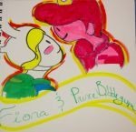 Fiona and Prince Gumball by MeMyselfnMusic