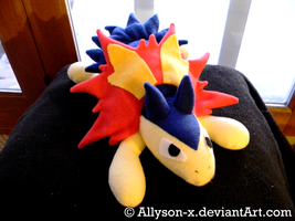 Typhlosion Plush by Allyson-x