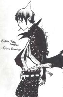 Earth King Amaimon ~Blue Exorcist~ by firefoxserperior