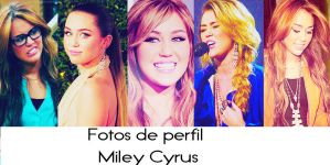 Packs fotos de perfil Miley Cyrus by SONSONA20