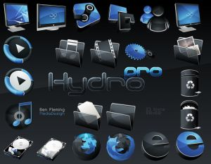HydroPRO  HP  Dock Icon Set by MediaDesign Icon, Icons and more Icons