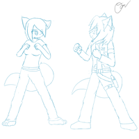 Training Session -Gift WIP- by Tukari-G3