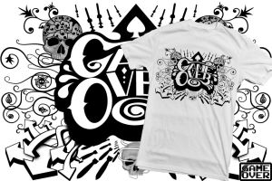 Shirt: Game Over Montage by GAME-OVER-CUSTOM