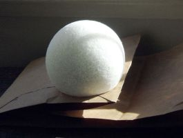 Snowball--light and shadow by Vivienne-Mercier