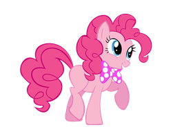 Pinkie Pie with Bowtie by NinjamissenDk