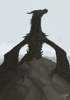 Alduin the World Eater by Alopus
