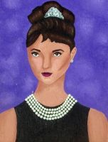 Audrey Hepburn 2 by sognidolci