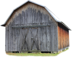 Pioneer Barn - PNG by Thy-Darkest-Hour