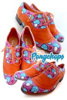 Mushrooms In Love Brogues by ponychops