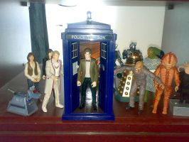 My Doctor Who figures so far by Carnivius