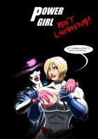 Power Mad 3 ( Power Girl Vs The Joker ) by adamantis