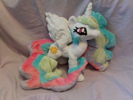 Princess Celestia by DappleHeartPlush