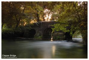 Clapper Bridge by matt-h-mitchell
