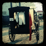 Old Fashioned Laundry Cart 2 by rebeccastrang