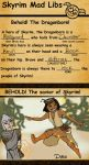 Skyrim Mad Lib by Sekhmet-Heart