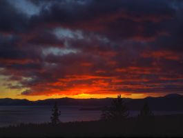 Tahoe sunset 11 by MartinGollery