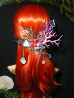 Arielles Treasure - Mermaid Headgear I by Ganjamira