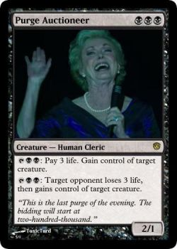 Purge Auctioneer by ToxicTurd