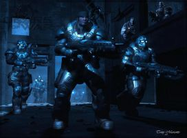 Gears of War by ubald007