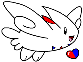 Togekiss by DeathToSquishies