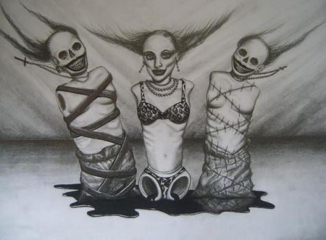 The three Disgraces by suzzan-blac
