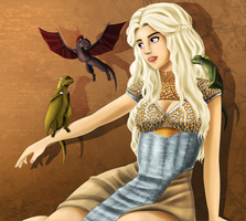 GoT: I have Dragons! by Mikadel