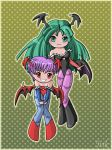 Chibi Lilith and Morrigan by Irik77