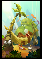 "Dofus postcard ""ti moon"" by tchokun"