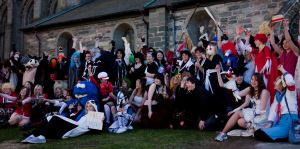 Cosplayer Group Picture by Wkter