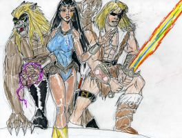 Thundarr the barbarian by theaven