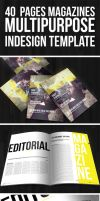 40 pages magazine template second edition by duemilacentododici