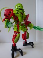 Bionicle Toxic Reapa by st3vethesquid