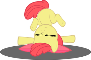 Ouch AppleBloom by xXV0X5CR3AMXx