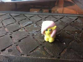 Chibi fluttershy figure by Nightmaremoon108