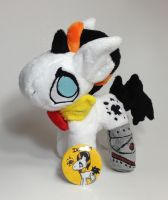 My Little Pony - Ink Blot OC Custom plush by Kitamon