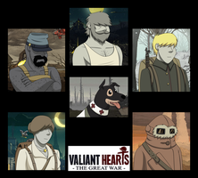 Valiant Hearts: The Great War by gabrielcic