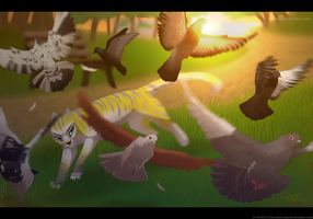.:Pigeon Hunt - Birthday Gift:. by Lasania