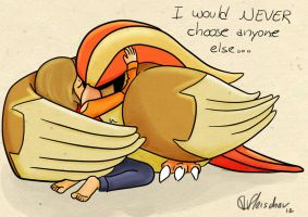 Pidgeot by VibaFleischer